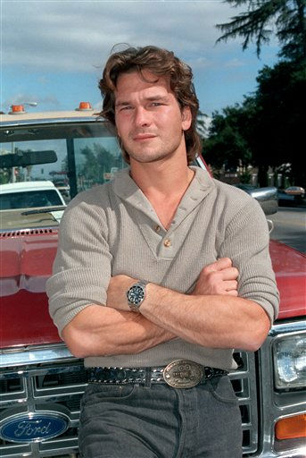 "<div class=""meta ""><span class=""caption-text "">People's Sexiest Man Alive 1991: Patrick Swayze. Actor Patrick Swayze is shown in Los Angeles in this 1985 photo.  (AP Photo/ Wally Fong)</span></div>"
