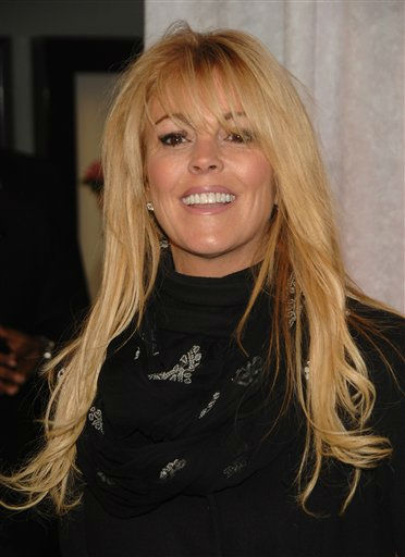 Dina Lohan attends the premiere of &#34;Bride Wars&#34; in New York on Monday, Jan. 5, 2009. The mother of actress Lindsay Lohan  is one of the celebrities rumored to in the cast of season 13 of &#39;Dancing with the Stars&#39; which premieres September 19 at 7pm on ABC13. <span class=meta>(AP Photo&#47; Peter Kramer)</span>