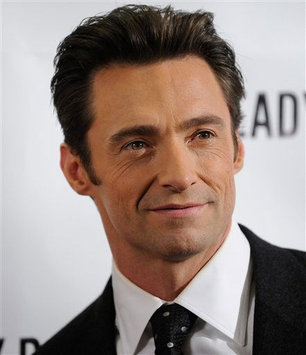 People&#39;s Sexiest Man Alive 2008: Hugh Jackman. FILE - In this Sept. 29, 2009 file photo, actor Hugh Jackman poses during a photo opportunity following the Broadway opening performance of &#39;A Steady Rain&#39; in New York. Authorities say a helicopter used in the filming of the Hugh Jackman movie &#34;Real Steel&#34; snagged a power line in Michigan, causing a brief power outage and closing a roadway. Huron County Sheriff Kelly J. Hanson tells the Huron Daily Tribune of Bad Axe that no injuries were reported after the Sunday evening accident in Huron County&#39;s Sheridan Township, about 90 miles north of Detroit.  <span class=meta>(AP Photo&#47; Evan Agostini)</span>