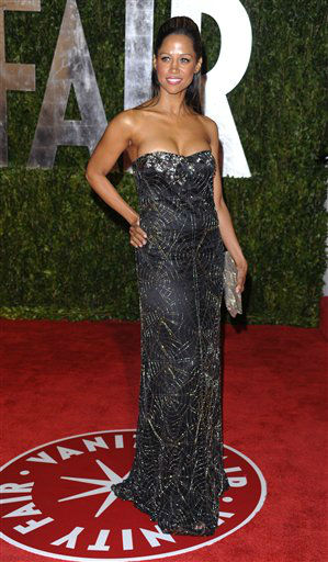 Stacey Dash arrives at the Vanity Fair Oscar party on Sunday, March 7, 2010, in West Hollywood, Calif. She is one of the celebrities rumored to be dancing on the 14th season of &#39;Dancing with the Stars&#39; on ABC. The official cast will be revealed on February 28 on ABC. <span class=meta>(AP Photo&#47; Peter Kramer)</span>