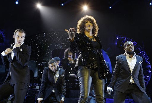 U.S singer Whitney Houston performs at the o2 in London as part of her European tour, Sunday, April 25, 2010. &#40;AP Photo&#47;Joel Ryan&#41; <span class=meta>(AP Photo&#47; Joel Ryan)</span>