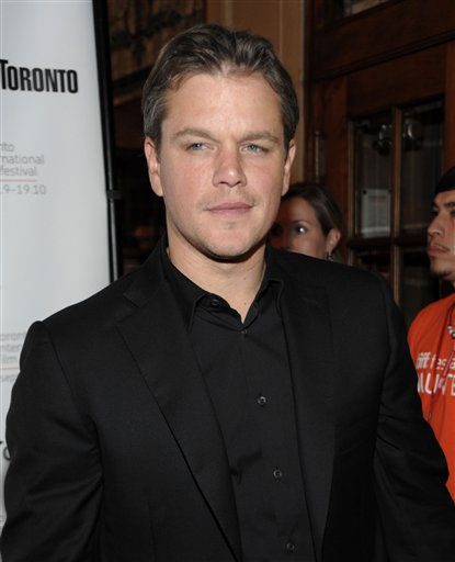 People&#39;s Sexiest Man Alive 2007: Matt Damon. Actor Matt Damon arrives at the premiere of the feature film &#34;Hereafter&#34; during the Toronto International Film Festival in Toronto on Sunday, Sept. 12, 2010.  <span class=meta>(AP Photo&#47; Dan Steinberg)</span>