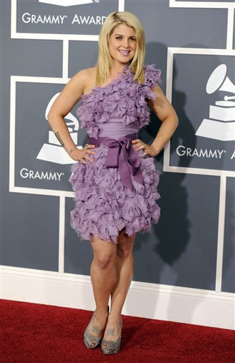 Kelly Osbourne arrives at the 53rd annual Grammy Awards on Sunday, Feb. 13, 2011, in Los Angeles. &#40;AP Photo&#47;Chris Pizzello&#41; <span class=meta>(AP Photo&#47; Chris Pizzello)</span>