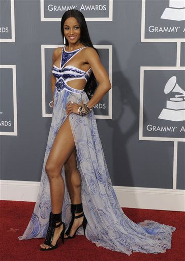 Ciara arrives at the 53rd annual Grammy Awards on Sunday, Feb. 13, 2011, in Los Angeles. &#40;AP Photo&#47;Chris Pizzello&#41; <span class=meta>(AP Photo&#47; Chris Pizzello)</span>