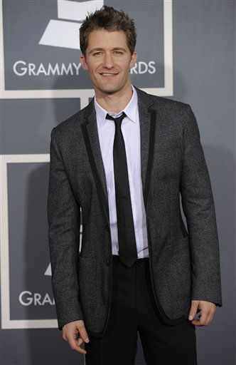 Matthew Morrison arrives at the 53rd annual Grammy Awards on Sunday, Feb. 13, 2011, in Los Angeles. &#40;AP Photo&#47;Chris Pizzello&#41; <span class=meta>(AP Photo&#47; Chris Pizzello)</span>
