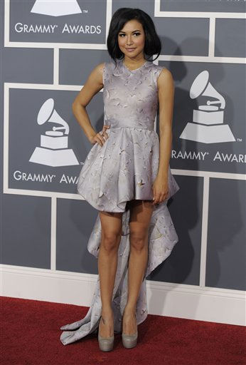 "<div class=""meta ""><span class=""caption-text "">Naya Rivera arrives at the 53rd annual Grammy Awards on Sunday, Feb. 13, 2011, in Los Angeles. (AP Photo/Chris Pizzello) (AP Photo/ Chris Pizzello)</span></div>"