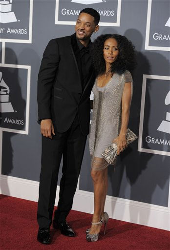 Will Smith, left, and Jada Pinkett Smith arrive at the 53rd annual Grammy Awards on Sunday, Feb. 13, 2011, in Los Angeles. &#40;AP Photo&#47;Chris Pizzello&#41; <span class=meta>(AP Photo&#47; Chris Pizzello)</span>