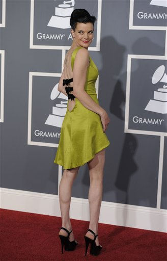 Pauley Perrette arrives at the 53rd annual Grammy Awards on Sunday, Feb. 13, 2011, in Los Angeles. &#40;AP Photo&#47;Chris Pizzello&#41; <span class=meta>(AP Photo&#47; Chris Pizzello)</span>
