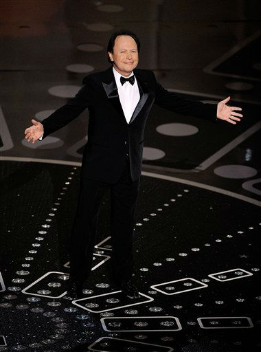 "<div class=""meta ""><span class=""caption-text "">Comedian Billy Crystal speaks during the 83rd Academy Awards on Sunday, Feb. 27, 2011, in the Hollywood section of Los Angeles. (AP Photo/Mark J. Terrill) (AP Photo)</span></div>"