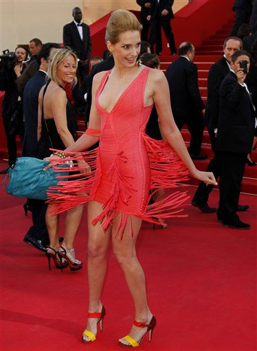 Actress Frederic Bel arrives for the screening of The Artist at the 64th international film festival, in Cannes, southern France, Sunday, May 15, 2011. &#40;AP Photo&#47;Francois Mori&#41; <span class=meta>(Photo&#47;Francois Mori)</span>