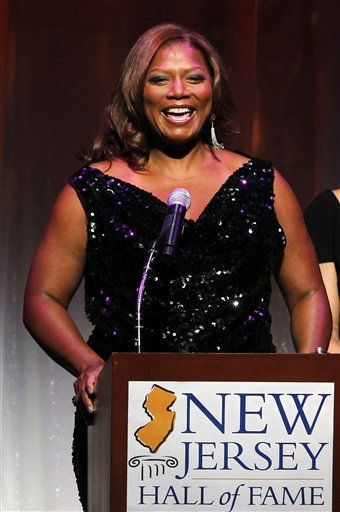 Queen Latifah talks after being inducted into New Jersey&#39;s Hall of Fame during the induction ceremony at New Jersey Performing Arts Center in Newark, N.J., Sunday, June 5, 2011. The singer&#47;actress is one of the celebrities rumored to in the cast of season 13 of &#39;Dancing with the Stars&#39; which premieres September 19 at 7pm on ABC13. <span class=meta>(AP Photo&#47; Rich Schultz)</span>