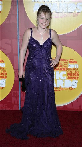 Crystal Bowersox arrives at the 2011 CMT Music Awards in Nashville, Tenn. on Wednesday, June 8, 2011.  &#40;AP Photo&#47;Charles Sykes&#41; <span class=meta>(AP Photo&#47; Charles Sykes)</span>