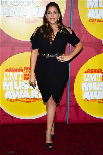 Hillary Scott arrives at the 2011 CMT Music Awards in Nashville, Tenn. on Wednesday, June 8, 2011. &#40;AP Photo&#47;Charles Sykes&#41; <span class=meta>(AP Photo&#47; Charles Sykes)</span>
