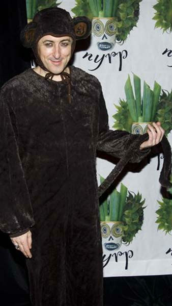 Alan Cumming attends Bette Midler&#39;s Hulaween gala benefit for the New York Restoration Project, in New York, Friday, Oct. 28, 2011. &#40;AP Photo&#47;Charles Sykes&#41; <span class=meta>(AP Photo&#47; Charles Sykes)</span>