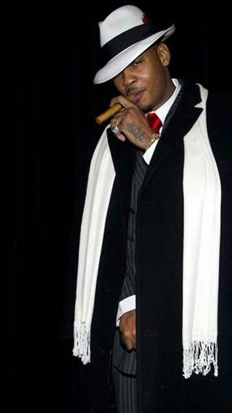 Carmelo Anthony attends Bette Midler&#39;s Hulaween gala benefit for the New York Restoration Project, in New York, Friday, Oct. 28, 2011. &#40;AP Photo&#47;Charles Sykes&#41; <span class=meta>(AP Photo&#47; Charles Sykes)</span>