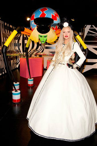 "<div class=""meta ""><span class=""caption-text "">Lady Gaga in GAGA'S WORKSHOP at Barneys New York. (PRNewsFoto/Barneys New York Credit: David Swanson, Terry Richardson Photography) (AP Photo)</span></div>"