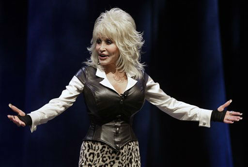 Dolly Parton announces plans on Thursday, Jan. 19, 2012,  to open a water-snow park in Nashville, Tenn. She is one of the celebrities rumored to be dancing on the 14th season of &#39;Dancing with the Stars&#39; on ABC. The official cast will be revealed on February 28 on ABC. <span class=meta>(AP Photo&#47; Mark Humphrey)</span>