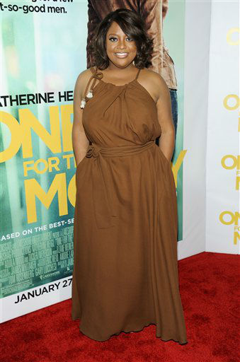 "<div class=""meta ""><span class=""caption-text "">Television personality Sherri Shepherd attends the ""One For The Money"" premiere at the AMC Loews Lincoln Square theater on Tuesday, Jan. 24, 2012 in New York. She is one of the celebrities rumored to be dancing on the 14th season of 'Dancing with the Stars' on ABC. The official cast will be revealed on February 28 on ABC. (AP Photo/ Evan Agostini)</span></div>"