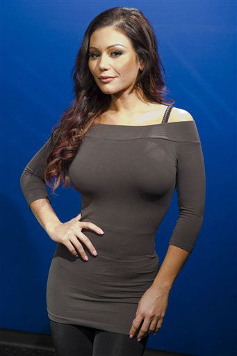 Jenni &#34;JWoww&#34; Farley poses for a portrait in New York, Wednesday, Feb. 1, 2012. She is one of the celebrities rumored to be dancing on the 14th season of &#39;Dancing with the Stars&#39; on ABC. The official cast will be revealed on February 28 on ABC. <span class=meta>(AP Photo&#47; Charles Sykes)</span>