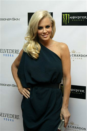 "<div class=""meta image-caption""><div class=""origin-logo origin-image ""><span></span></div><span class=""caption-text"">Jenny McCarthy arrives for the annual Leather and Laces event during Super Bowl festivities on Friday, Feb. 3, 2012, in Indianapolis. She is one of the celebrities rumored to be dancing on the 14th season of 'Dancing with the Stars' on ABC. The official cast will be revealed on February 28 on ABC. (AP Photo/ Matt Slocum)</span></div>"