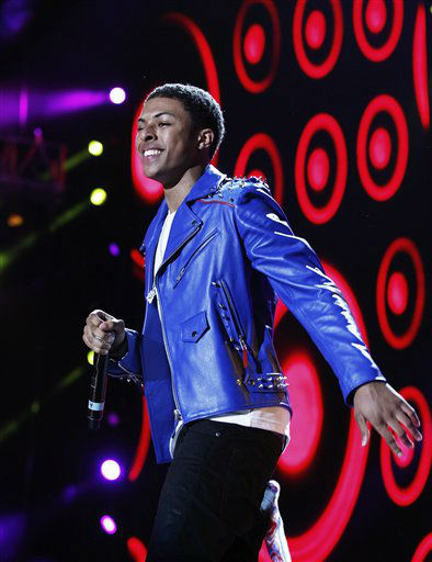 Diggy Simmons performs at the Essence Music Festival in New Orleans, Thursday, July 5, 2012. &#40;Photo by Bill Haber&#47;Invision&#47;AP&#41; <span class=meta>(Photo&#47;Bill Haber)</span>