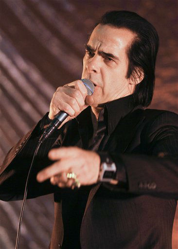 Nick Cave and the Bad Seeds perform during the SXSW Music Festival, on Wednesday, March 13, 2013 in Austin, Texas.   <span class=meta>(Photo&#47;Jack Plunkett)</span>