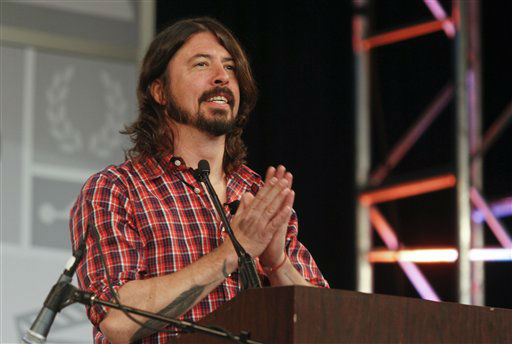 Dave Grohl gives the opening keynote during the SXSW Music Festival, on Thursday, March 14, 2013 in Austin, Texas.   <span class=meta>(Photo&#47;Jack Plunkett)</span>