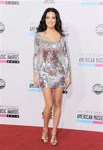 Bleona arrives at the 40th Anniversary American Music Awards on Sunday, Nov. 18, 2012, in Los Angeles.   <span class=meta>(AP photo)</span>