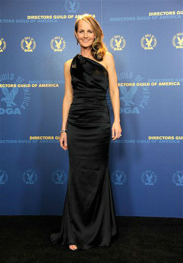 Helen Hunt poses backstage at the 65th Annual Directors Guild of America Awards at the Ray Dolby Ballroom on Saturday, Feb. 2, 2013, in Los Angeles. &#40;Photo by Chris Pizzello&#47;Invision&#47;AP&#41; <span class=meta>(Photo&#47;Chris Pizzello)</span>