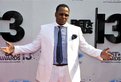 Bobby Brown arrives at the BET Awards at the Nokia Theatre on Sunday, June 30, 2013, in Los Angeles. &#40;Photo by Chris Pizzello&#47;Invision&#47;AP&#41; <span class=meta>(AP Photo&#47; Chris Pizzello)</span>