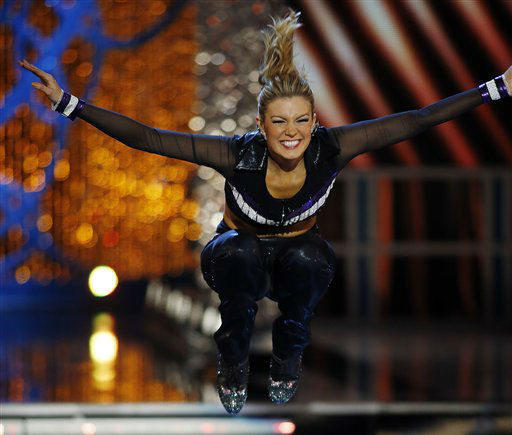 Miss New York Mallory Hytes Hagan competes in the talent portion of the Miss America 2013 pageant on Saturday, Jan. 12, 2013, in Las Vegas. Hytes Hagan won the competition.   <span class=meta>(AP Photo&#47; Isaac Brekken)</span>