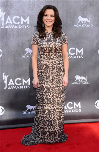 Martina McBride arrives at the 49th annual Academy of Country Music Awards at the MGM Grand Garden Arena on Sunday, April 6, 2014, in Las Vegas. &#40;Photo by Al Powers&#47;Powers Imagery&#47;Invision&#47;AP&#41; <span class=meta>(Al Powers&#47;Powers Imagery)</span>