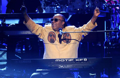 Stevie Wonder performs onstage at the BET Awards at the Nokia Theatre on Sunday, June 30, 2013, in Los Angeles. &#40;Photo by Frank Micelotta&#47;Invision&#47;AP&#41; <span class=meta>(AP Photo&#47; Frank Micelotta)</span>