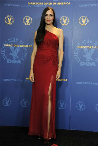 Famke Janssen poses backstage at the 65th Annual Directors Guild of America Awards at the Ray Dolby Ballroom on Saturday, Feb. 2, 2013, in Los Angeles. &#40;Photo by Chris Pizzello&#47;Invision&#47;AP&#41; <span class=meta>(Photo&#47;Chris Pizzello)</span>