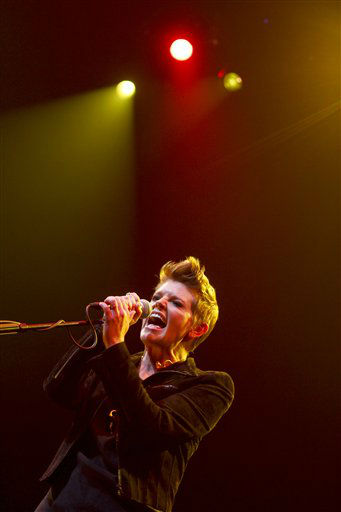 Natalie Maines performs during the SXSW Music Festival, on Wednesday, March 13, 2013 in Austin, Texas.   <span class=meta>(Photo&#47;Jack Plunkett)</span>