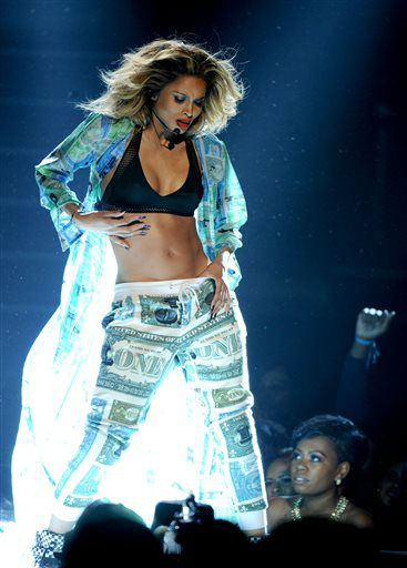 Ciara performs onstage at the BET Awards at the Nokia Theatre on Sunday, June 30, 2013, in Los Angeles. &#40;Photo by Frank Micelotta&#47;Invision&#47;AP&#41; <span class=meta>(AP Photo&#47; Frank Micelotta)</span>