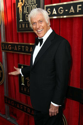 Dick Van Dyke arrives at the 19th Annual Screen Actors Guild Awards at the Shrine Auditorium in Los Angeles on Sunday, Jan. 27, 2013. &#40;Photo by Matt Sayles&#47;Invision&#47;AP&#41; <span class=meta>(Photo&#47;Matt Sayles)</span>