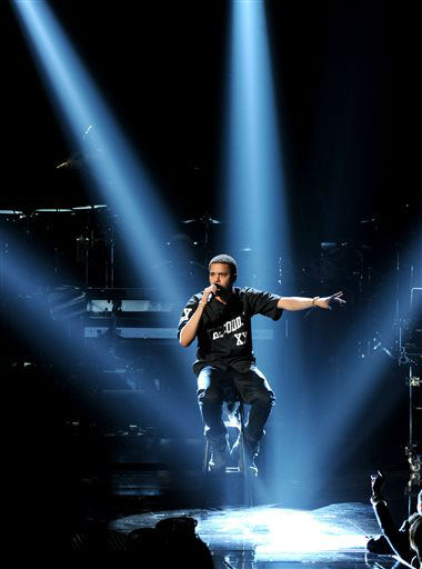J. Cole performs onstage at the BET Awards at the Nokia Theatre on Sunday, June 30, 2013, in Los Angeles. &#40;Photo by Frank Micelotta&#47;Invision&#47;AP&#41; <span class=meta>(AP Photo&#47; Frank Micelotta)</span>
