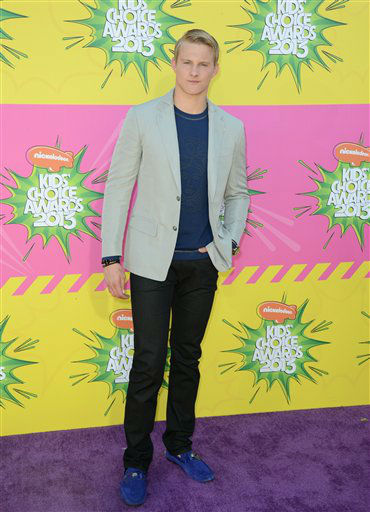 "<div class=""meta ""><span class=""caption-text ""> Actor Alexander Ludwig arrives at the 26th annual Nickelodeon's Kids' Choice Awards on Saturday, March 23, 2013, in Los Angeles. (AP photo)</span></div>"