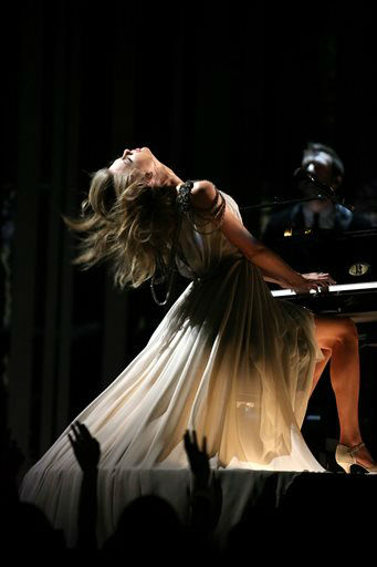 Taylor Swift performs &#34;All Too Well&#34; at the 56th annual Grammy Awards at Staples Center on Sunday, Jan. 26, 2014, in Los Angeles.   <span class=meta>(Photo&#47;Matt Sayles)</span>