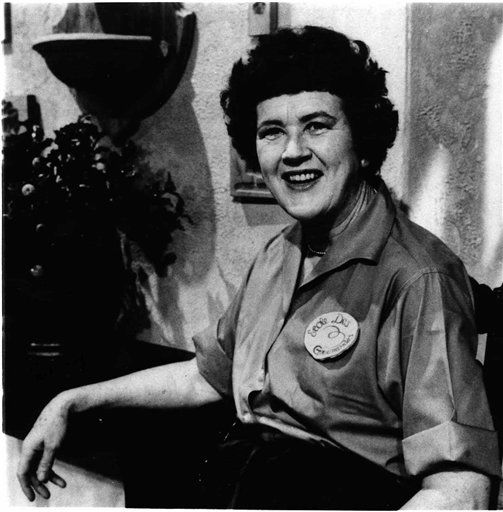 FILE-This 1967 file photo shows Julia Child explaining &#34;with a little practice&#34; you can do everything with the flare of a gourmet.  More so than the tools and techniques she popularized, Child&#39;s most lasting legacy may be her spirit and sense of humor.  That was the conclusion of several chefs and food magazine editors asked to describe Child&#39;s memorable contributions to American home cooking as a new movie about her life is about to open. &#40;AP Photo,File&#41; <span class=meta>(AP Photo&#47; Anonymous)</span>
