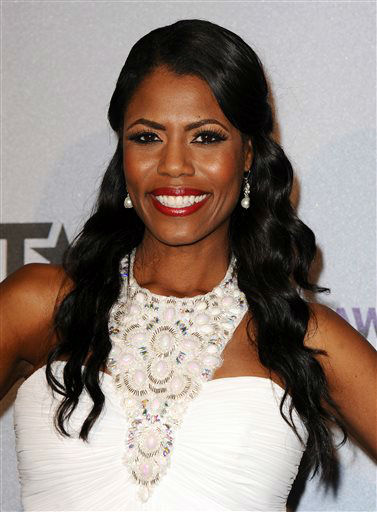 "<div class=""meta ""><span class=""caption-text "">Omarosa Manigault poses backstage at the BET Awards at the Nokia Theatre on Sunday, June 30, 2013, in Los Angeles. (Photo by Scott Kirkland/Invision/AP) (AP Photo/ Scott Kirkland)</span></div>"