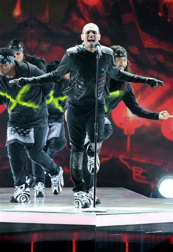 "<div class=""meta image-caption""><div class=""origin-logo origin-image ""><span></span></div><span class=""caption-text"">Chris Brown performs at the BET Awards at the Nokia Theatre on Sunday, June 30, 2013, in Los Angeles. (Photo by Frank Micelotta/Invision/AP) (AP Photo/ Frank Micelotta)</span></div>"