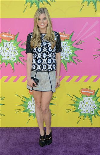 "<div class=""meta ""><span class=""caption-text ""> Actress Ana Mulvoy-Ten arrives at the 26th annual Nickelodeon's Kids' Choice Awards on Saturday, March 23, 2013, in Los Angeles.  (AP photo)</span></div>"