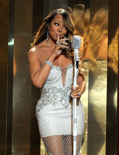 Mariah Carey performs onstage at the BET Awards at the Nokia Theatre on Sunday, June 30, 2013, in Los Angeles. &#40;Photo by Frank Micelotta&#47;Invision&#47;AP&#41; <span class=meta>(AP Photo&#47; Frank Micelotta)</span>