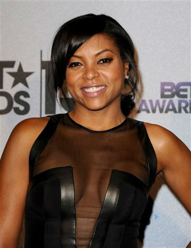 Taraji P. Henson poses backstage at the BET Awards at the Nokia Theatre on Sunday, June 30, 2013, in Los Angeles. &#40;Photo by Scott Kirkland&#47;Invision&#47;AP&#41; <span class=meta>(AP Photo&#47; Scott Kirkland)</span>