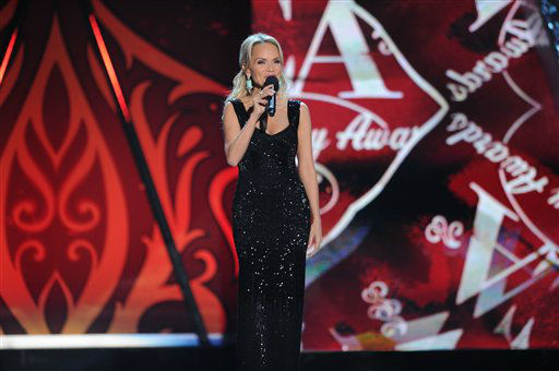 "<div class=""meta image-caption""><div class=""origin-logo origin-image ""><span></span></div><span class=""caption-text"">Kristin Chenoweth appears on stage during the American Country Awards on Monday, Dec. 10, 2012, in Las Vegas. (Photo by Al Powers/Powers Imagery/Invision/AP) (Photo/Al Powers)</span></div>"