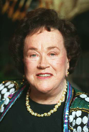 American Master Chef Julia Child poses Sunday Feb. 7, 1993 at the tribute reception in her honor in Los Angeles.&#40;AP PHOTO&#47;Douglas C. Pizac&#41; <span class=meta>(AP Photo&#47; DOUGLAS C. PIZAC)</span>