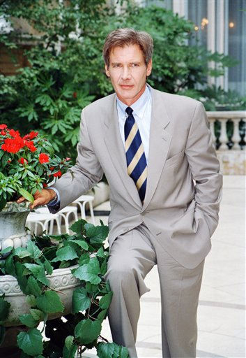 People&#39;s Sexiest Man Alive 1998: Harrison Ford. American actor Harrison Ford in Paris, France  August 30, 1993.  <span class=meta>(AP Photo&#47; Anonymous)</span>
