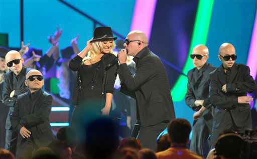 "<div class=""meta ""><span class=""caption-text "">Christina Aguilera and Pitbull perform at the 26th annual Nickelodeon's Kids' Choice Awards on Saturday, March 23, 2013, in Los Angeles.  (AP photo)</span></div>"